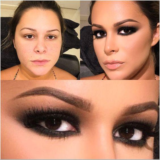 Client !! Smokey eyes #alcantaramakeup #vegas_nay #hudabeauty #anastasiabeverlyhills #makeupartist #auroramakwup #makeupaddict #makeupartist #makeup