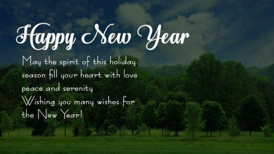 New Year's Greeting Saying 2018 Messages To Facebook Friend