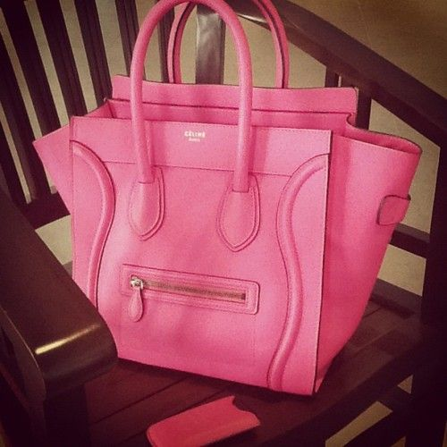 celine handbag online - Pink Celine Luggage tote | tumblr | // Handbag Love // | Pinterest ...