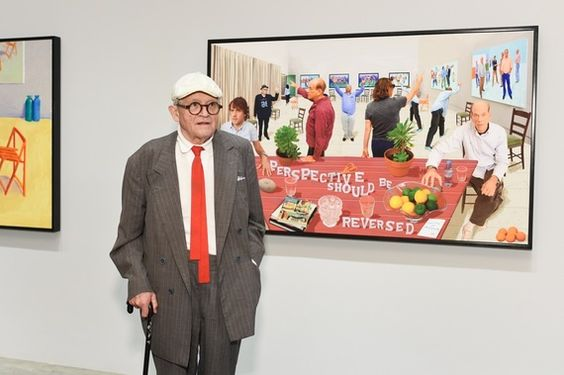 David Hockney Interview : Review of Painting and Photography at ...