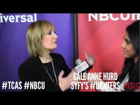 "Gale Anne Hurd - Executive Producer, SyFy's ""Hunters"" @GunnerGale at NBCUniversal's Winter 2016 Press Tour #NBCU #TCA2016"