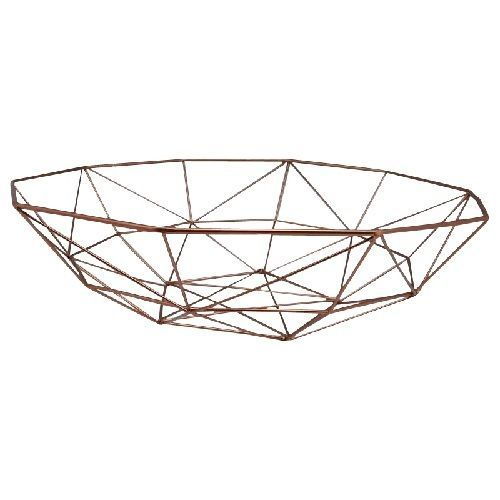 Copper Modern Fruit Bowl And Copper Metal On Pinterest