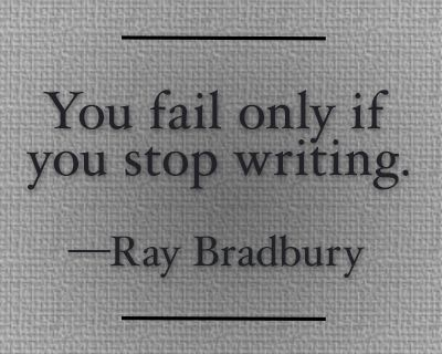 For my writing friends.... Keep it up!!!!: