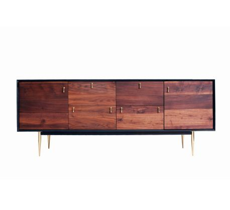 Organic Modernism Makes For A Fitting Buffet House Objects Pinterest Wooden Sideboards