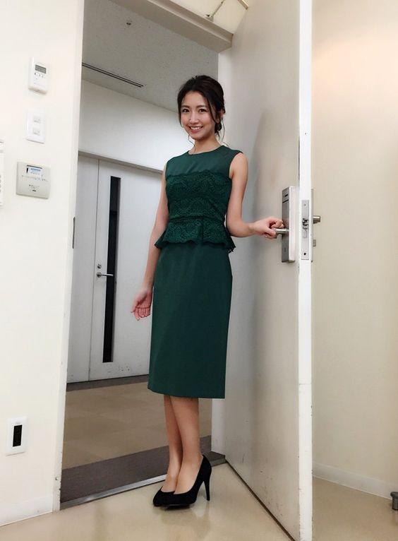 「フジテレビ×モデルプレス」の企画での三田友梨佳アナの画像