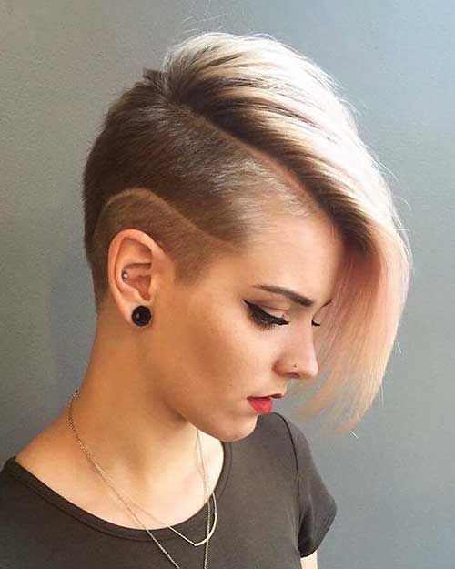 Short Hairstyles For Girls Short Shaved Hairstyles Hair Styles Short Hair Styles