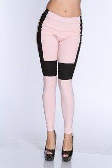 Pink Two Tone Leggings
