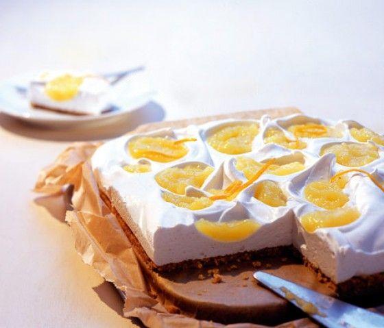 Mandel marshmallow kuchen