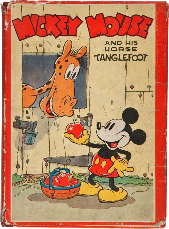 Mickey Mouse and His Horse Tanglefoot. Philadelphia:  David McKay Company, 1936. First edition.