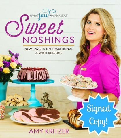 Sweet Noshings: New Twists on Traditional Jewish Desserts - Signed Copy! by ModernTribe - ModernTribe - 1