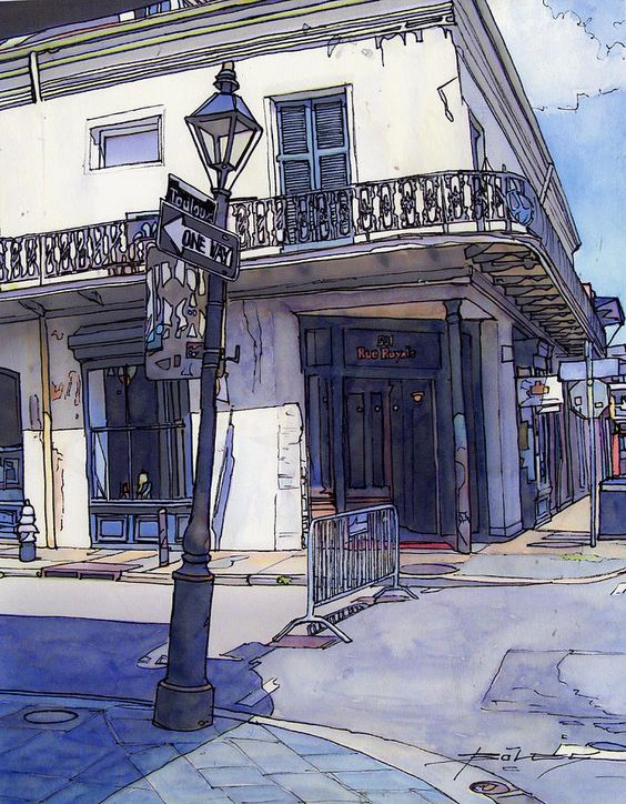 John Boles WATERCOLOR: