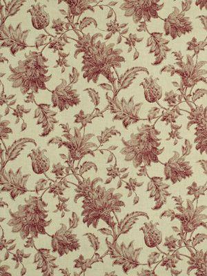 """RA: Beacon Hill -Linnean Hibiscus Color  28"""" Horiz. 17.75 Vertical  55% Linen 45% Rayon"""