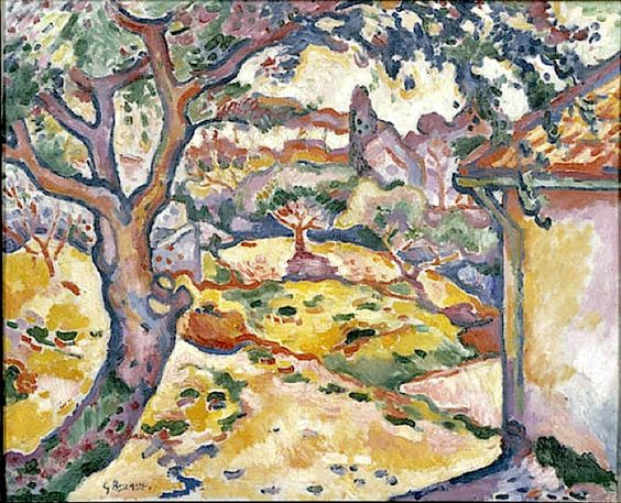 Olive Tree near Estaque, 1906Georges Braque (French, 1882-1963)