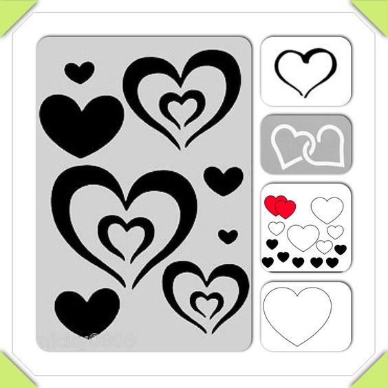 Nail art stencil | NAILS | Pinterest | Nail art, Art and Stencils