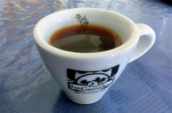 Gourmetkaffee aus dem Tal von #Agaete. Die Ernte ist mager, aber die Qualität erstklassig.