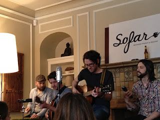 My first blog post on culture lifting the soul.  Sofar Sounds secret concerts for everyone!
