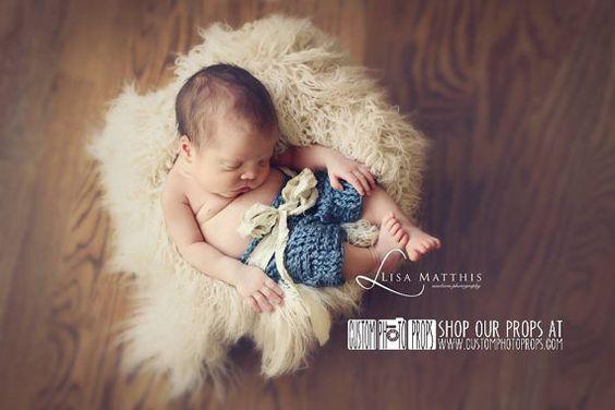 Eggshell Long Sheep Faux Flokati Fur Newborn Photo Props, Artificial Fur, Newborn Baby Photography Props, Basket Stuffer Blanket, Off White
