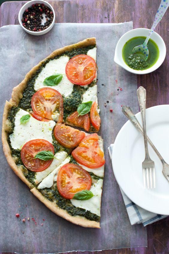 Caprese Salad Pizza