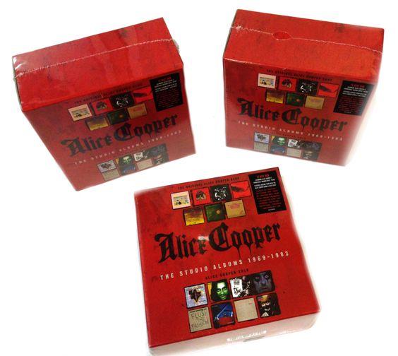 "Alice Cooper: Gewinne 1 von 3 Alice Cooper 15-CD-Boxen ""The Studio Albums 1969-1983"" | Warner Music Germany"