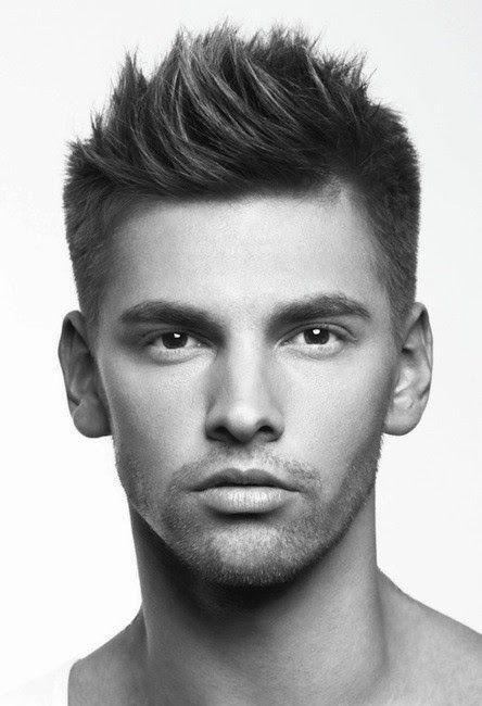 2015-2016 Men Hair Trends | 2015-2016 Men's Hairstyle Trends - The Peaked Clean-Cut