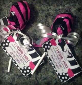 Zebra Baby Shower | CatchMyParty.com