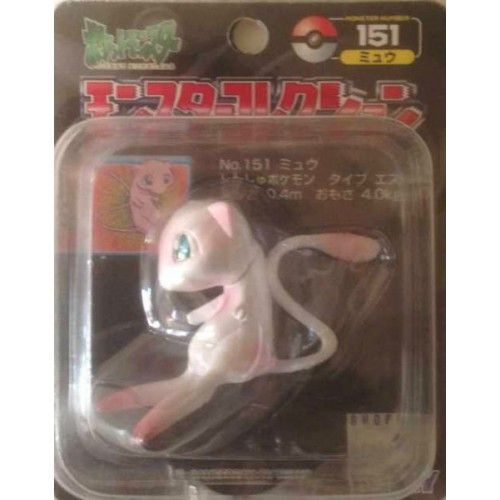 "Pokemon 2000 Mew Tomy 2"" Monster Collection Plastic Figure #151"
