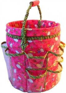 This whole site has ideas for 5 gallon buckets.   Thought covering an old leaky one, we have one or two might be a good use.