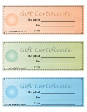 Gift Certificates Samples Best 25 Free Gift Certificate Template Ideas On Pinterest Pinterest .