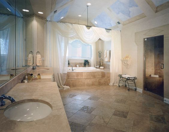 master bathroom - why not?!