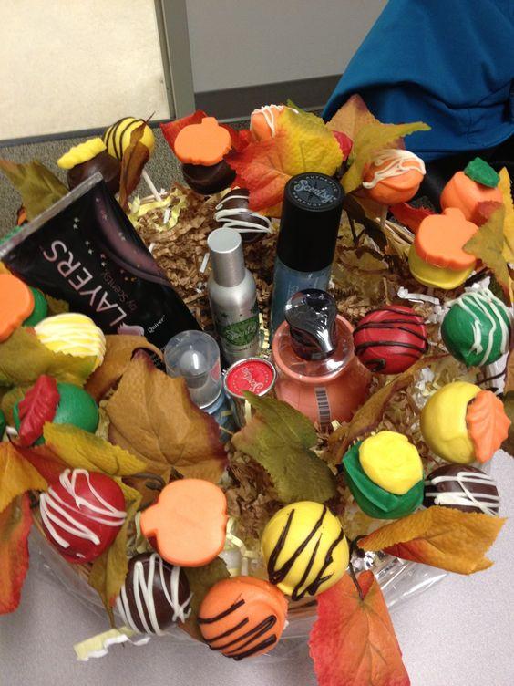 Cakepop basket with Scentsy's  $45