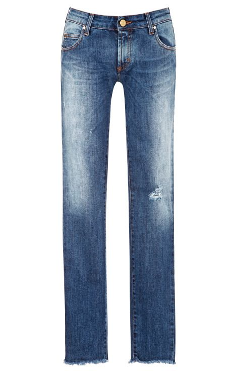 Dark Blue Skinny Jeans by Pierre Balmain - can take you just about anywhere! Love em.