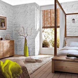 plaquette de parement orus white briques de parement. Black Bedroom Furniture Sets. Home Design Ideas
