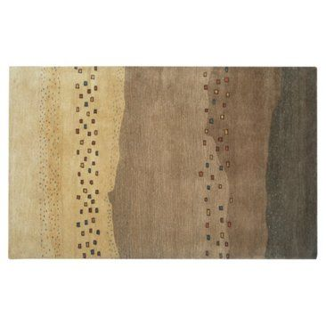 Check out this item at One Kings Lane! Monica Rug, Mocha/Multi