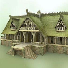 Pin De Miriam Morales En Tavern Casas En Miniatura Arquitectura Historica Arquitectura