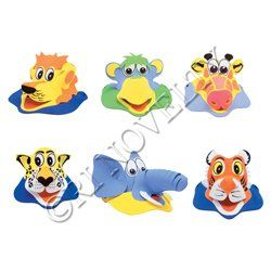 Jungle Animal Foam Visors >>> Check this awesome product by going to the link at the image.