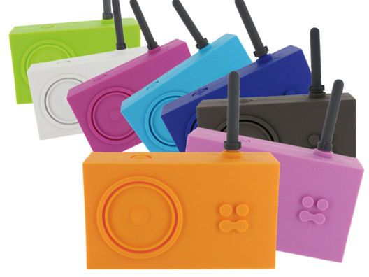 Rubber Radios in Fun Colors....great for the pool or the beach!