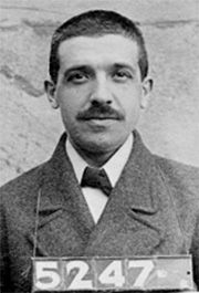 Ponzi scheme: An investment swindle in which high profits are promised from fictitious sources and early investors are paid off with funds raised from later ones. - Named after Charles Ponzi (1882-1949), a speculator who organized such a scheme during 1919-1920. He was neither the first nor the last person to float this or a similar scheme, just someone who did it on a massive scale. There is a long, long list of Ponzi schemes in history. Earliest documented use: 1920.