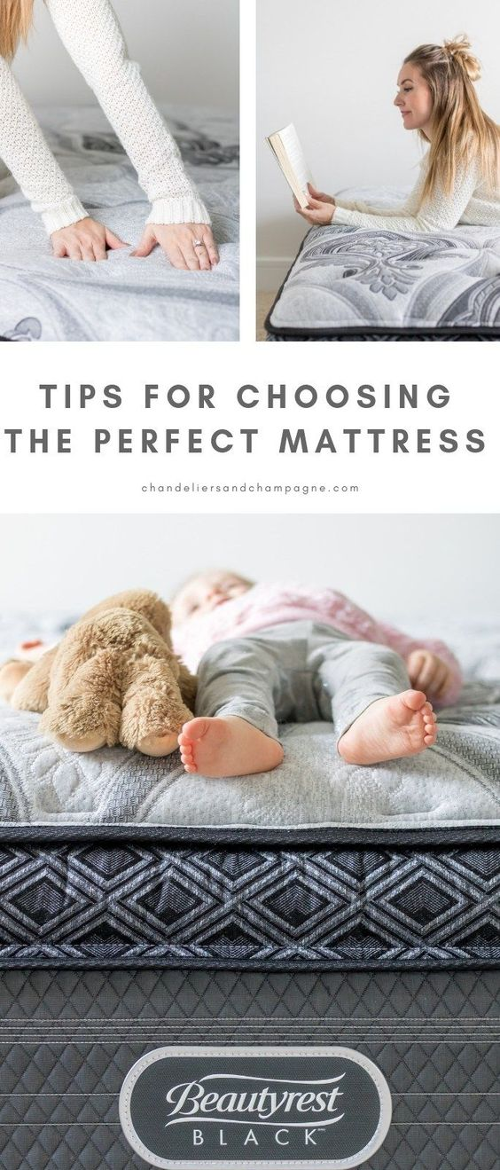Tips for choosing the perfect mattress - how to buy a mattress - mattress shopping tips - what to look for in a mattress