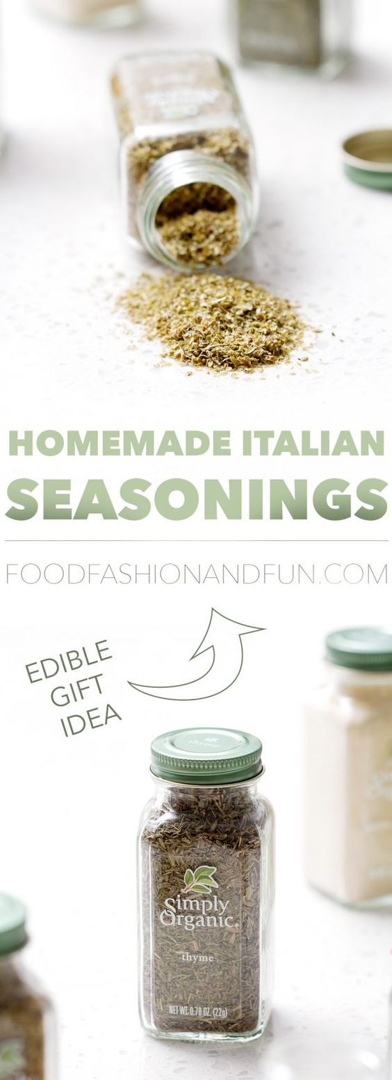 Edible Gift Idea: Homemade Italian Seasonings | Recipe | Posts ...
