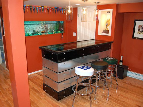 Man Cave With Tank : Man cave caves and bar on pinterest