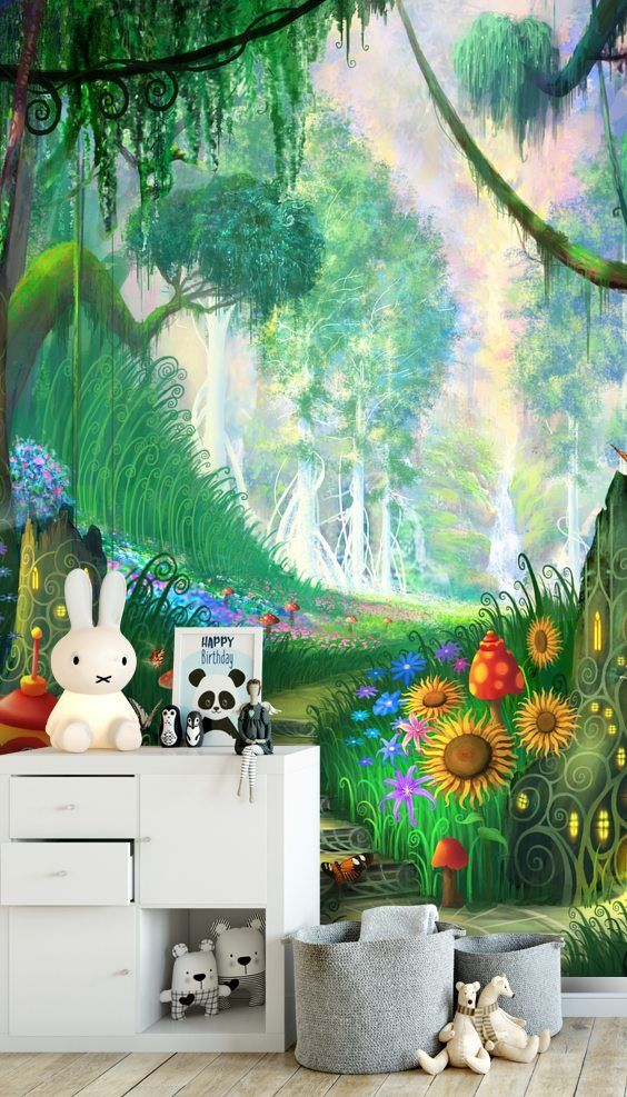 Hidden Treasure Mural Wallpaper Wall Murals Mural