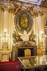 Escudo Nacional Salón Blanco Casa de Gobierno