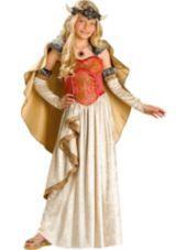 Girls Viking Princess Costume Elite-Girls Costumes-Sale Costumes-Halloween Costumes-Party City