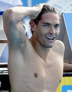 Camile lacourt - french swimmer- Ryan Lochte has nothing on you!