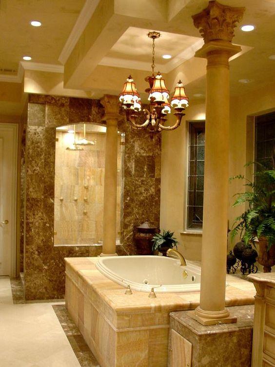 Romanesque-Style Bathroom | HGTVRemodels.com