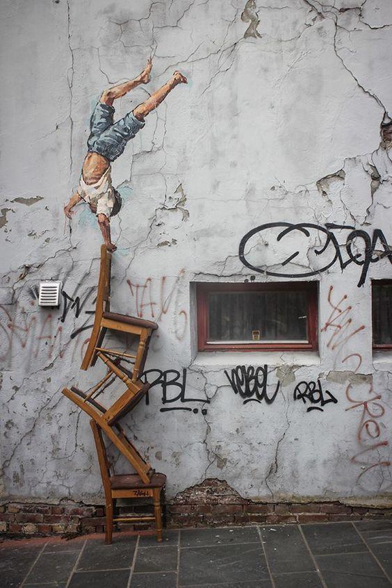 Street art : 24 oeuvres de Zacharevic pour replonger dans l'enfance !