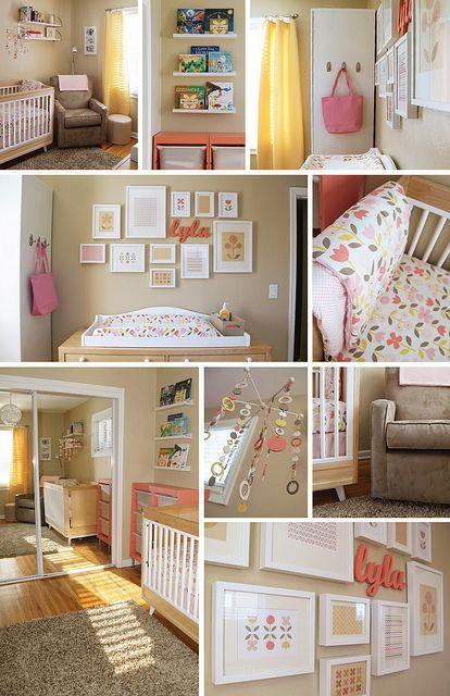 Modern Nursery Dwellstudio rosette