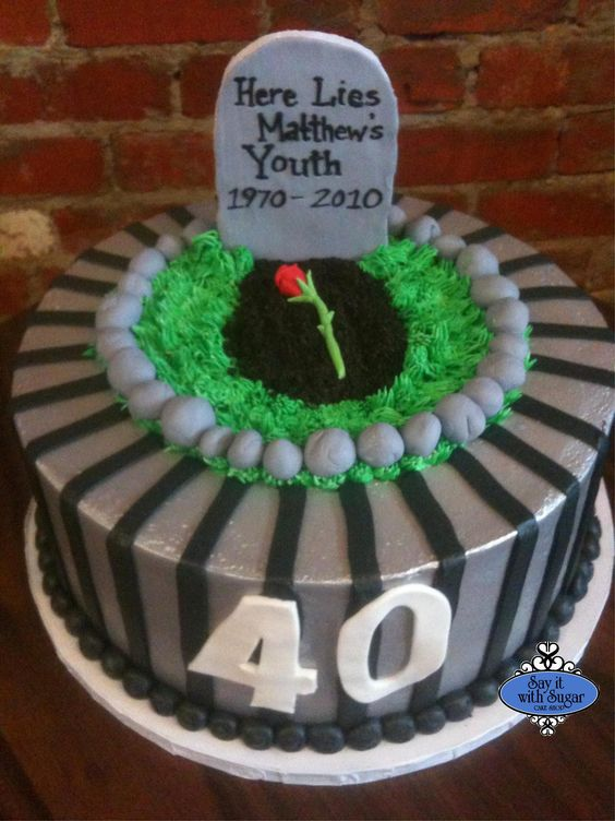 Image detail for -Tombstone Birthday Cake