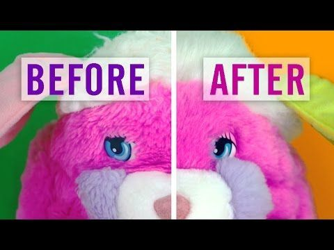 Can You Wash Stuffed Animals In The Washing Machine 12 How To Fix Stuffed Animal Fur From Dryer Damage And More Youtube Sewing Stuffed Animals Clean Stuffed Animals Animal Fur