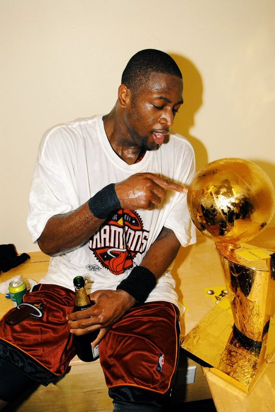 """Bleacher Report on Twitter: """"D-Wade after going down 0-2 in the 2006 Finals: 42 PTS, W 36 PTS, W 43 PTS, W 36 PTS, W Flash turns 37 today ⚡… """""""